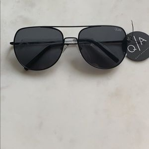 Quay Australia black on black sunglasses